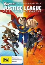 Justice League: CRISIS ON TWO EARTHS : NEW DVD