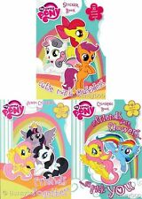 New A4 My Little Pony Colouring Book / Sticker Fun Kids Painting Activity Books