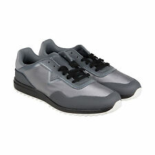 Diesel S-Swifter Mens Gray Textile Lace Up Sneakers Shoes