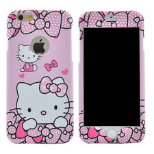 Hello Kitty Case Bumper Pink Cute Sweet Bow Cover Full Protection Polka Dots