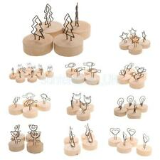 10pcs Table Place Card Holders Vintage Wedding Christmas Place Card Holders