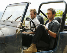 Hawaii Five-0 Scott Caan Alex O'loughlin in Jeep Poster or Photo