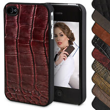 Apple iPhone 4S / 4 Hülle Case Leather Pouch Cover Protector Bouletta Jacket