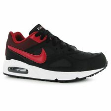 Nike Air Max Ivo Training Shoes Mens Black/Red Sports Fitness Trainers Sneakers