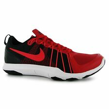 Nike Flex Tr Aver Training Shoes Mens Red/Black Sports Fitness Trainers Sneakers