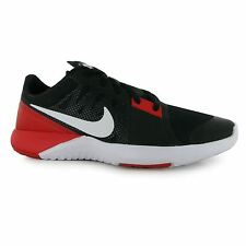 Nike FS Lite TR 3 Training Shoes Mens Black/White/Red Fitness Trainers Sneakers