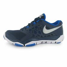 Nike Flex Supreme TR4 Running Shoes Mens Navy/Silver Fitness Trainers Sneakers