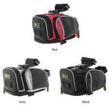 Outdoor Bike Bicycle Cycling Saddle Bag Tail Rear Pouch Seat Storage New C8M2