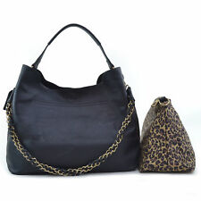 New Dasein 2 in 1 Womens Handbags Faux Leather Hobo Shoulder Bags Large Purse