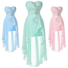 Chiffon Short Mini Homecoming Prom Dress Formal Evening Party Cocktail Ball Gown