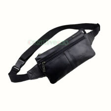 New Men's Genuine Leather Vintage Fanny Pack Waist Sling Chest Bag Pouch Purse