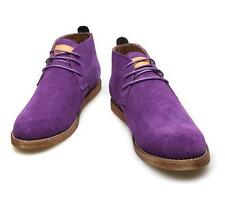 Men's lace up retro suede casual oxford Brogue chukka ankle Chelsea desert boots