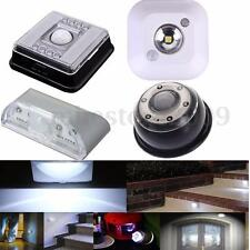 4/6/8/15 LED PIR Wireless Infrared Sensor Motion Detector Wall Night Light Lamp