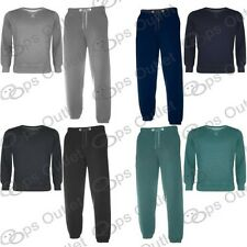 Mens Loungewear Gymming Jogging Pants Sweatshirt Jogsuit Top Bottom Tracksuit