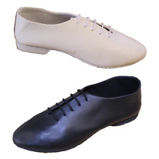 BN BLACK OR WHITE FULL RUBBER SOLE JAZZ/MODERN DANCE SHOES - ALL SIZES