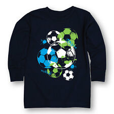 Soccerballs and Paint Boys-YOUTH LONG SLEEVE TEE