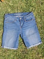 LADIES SIZE 4 AMERICAN EAGLE OUTFITTERS DENIM SHORTS