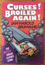 Curses Broiled Again by Jan H. Brunvand (1989, Hardcover) 1st Edition
