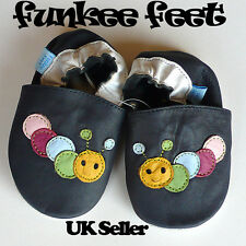 NEW UNISEX SOFT LEATHER BABY SHOES 0-6,6-12,12-18,18-24 mths CATERPILLAR