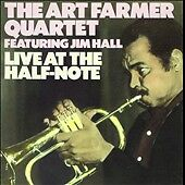 THE ART FARMER QUARTET FEATURING JIM HALL LIVE AT THE HALF-NOTE CASSETTE TAPE GC