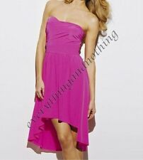 South IN HOT PINK STRAPLESS  Bandeau dress Dress   Size UK  14 & 18