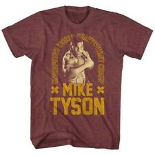 T-Shirts Sizes S-2XL New Authentic Mens Mike Tyson Undisputed Retro T-Shirt
