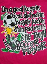 NEW Hot Gift Southern Chics Funny Soccer Player Sweet Girlie Bright T Shirt