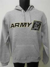 New Army West Point Black Knights Adult sizes XS-S-M Gray Hoodie by J.America