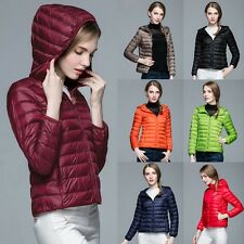 Ultralight 90% Duck Down Parka Jacket Hooded Coat Womens Winter Warm Outwear SFC