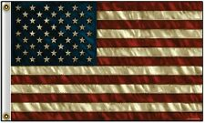 Distressed United States of America USA Polyester 3x5 Foot Flag US Banner New