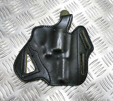 Genuine British Military Police Leather Pancake Holster Ruger Speed Six SP-6