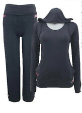 Slazenger Activewear Stretch Hooded Top & Trouser Size - 10 *NEW*