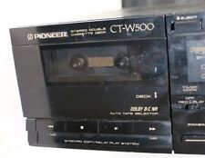Pioneer CT-W500 Tape Recorder Player