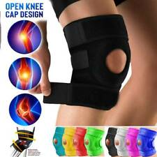 Adjustable Hinged Knee Brace Patella Compression Support Black Sport Relief SFC