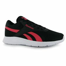 Reebok EC Ride Trainers Womens Black/Pink/White Casual Fashion Sneakers Shoes