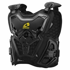 EVS F2 Chest Protector Roost Guard MX Moto Off-Road ATV BLACK Youth-Adult XL