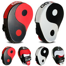 Sporteq Curved Hook And Jab Yin Yang  Punch / Kick Focus Pads, Boxing Training,