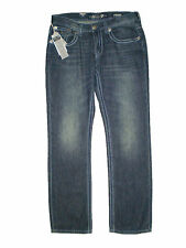 Seven 7 Premium Denim Mid Straight Leg Mens Denim Flap Jeans Size 32, 36 New $74