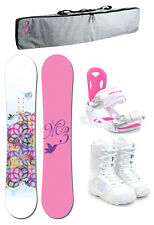 M3 ESCAPE 149 Womens Snowboard+Luna Bindings+M3 Boots+Padded Bag NEW