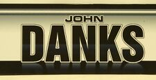 2011 John Danks Chicago White Sox Team Issued Locker Tag MLB Authenticated