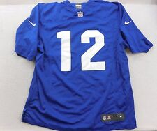 New NFL Nike On Field Blue Indianapolis Colts Andrew Luck 12 Football Jersey