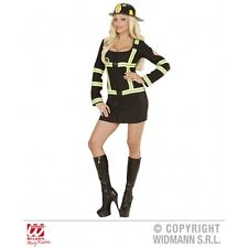 Ladies Womens Firefighter Girl Costume Outfit for Firemen Fancy Dress