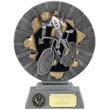 """CYCLING Road Cycle Race Trophy FREE ENGRAVING 3 Sizes 6"""", 7"""" or 8"""" Sportive New"""