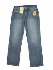 Lucky 165 Mid Relaxed Straight Leg Blue Denim Jeans Size 30 x 29, 30 x 32 New