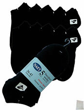 10 Pair Trainers Sports Socks black Short Sneakers Laundry bags