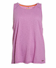 New Womens Superdry Factory Second Orange Sewn Slouch Tank Top Fluro Purple