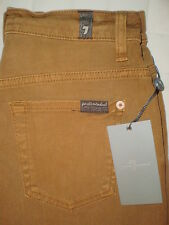 Seven 7 For All Mankind Cut Off Shorts Womens Jeans Size 24, 25 NEW $129 Cognac