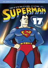 NEW SUPERMAN DVD with 17 Kids Cartoons Episiodes Childrens Movies Sealed NIP!