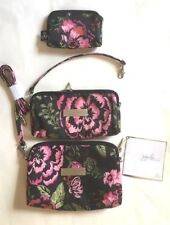 NWT JU JU BE Be Set BLOOMING ROMANCE 3 Floral Bags Limited Edition Baby Bag Fun