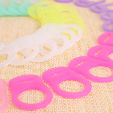 50 Multi-color T-Shaped Plastic Badge Clips 4 Making Dummy Clips Straps